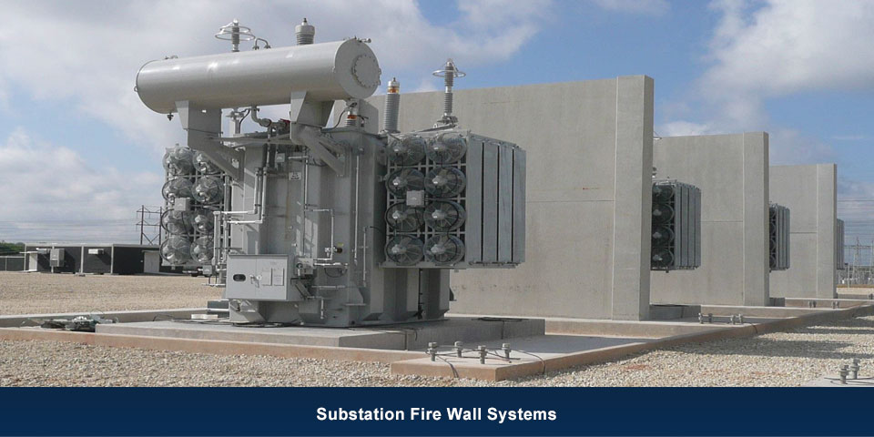 substation-fire-wall-systems